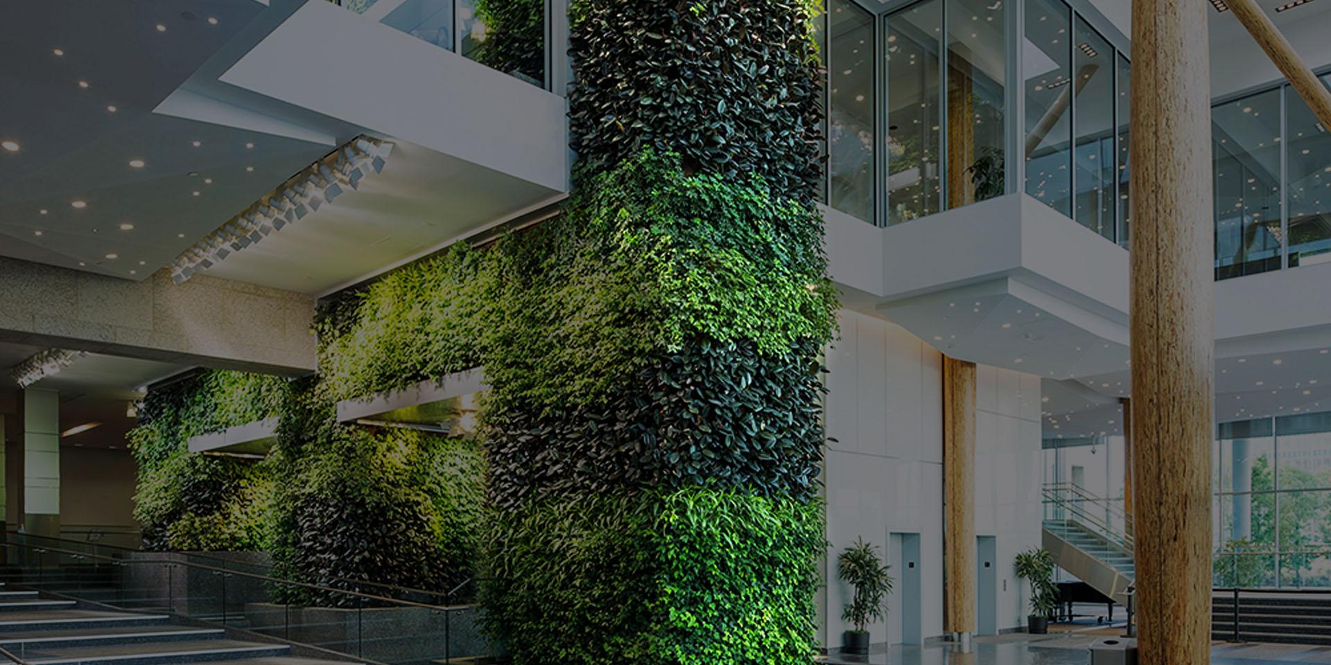 distributeur de murs artificiels et de murs végétaux