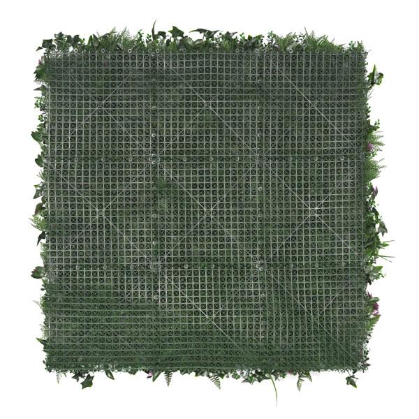mur végétal artificiel tropical