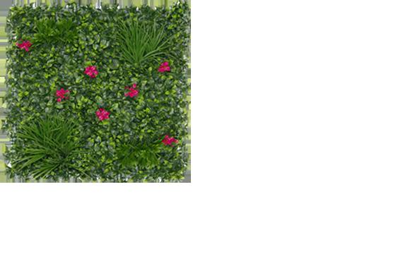 murs végétaux feuillages artificiels pas cher