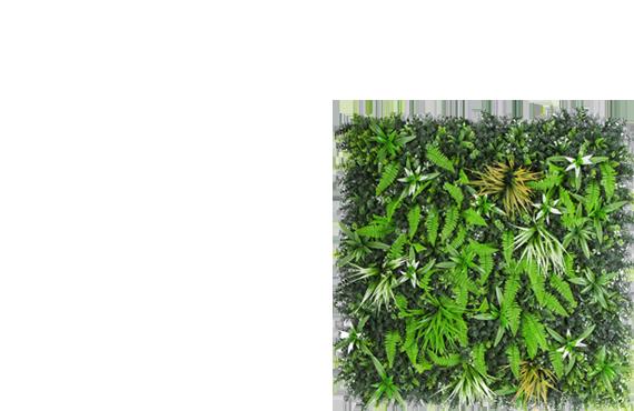 mur végétal artificiel pas cher