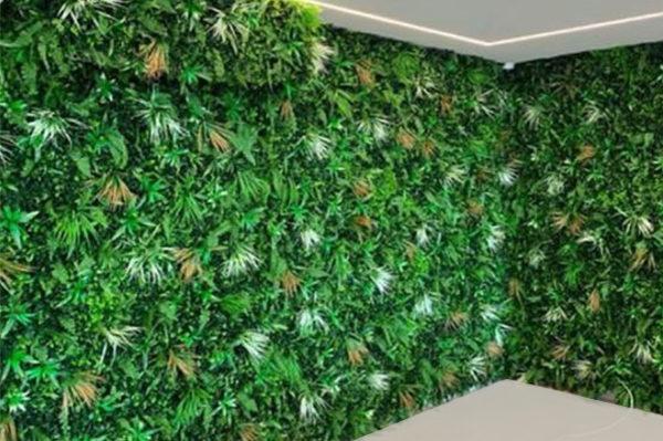 distributeur de murs végétaux feuillage artificiel