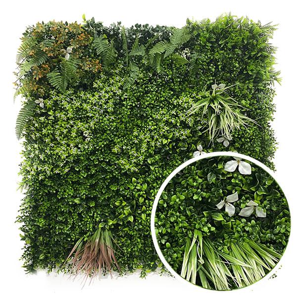 fabricant de murs végétaux synthétique jungle pour pro
